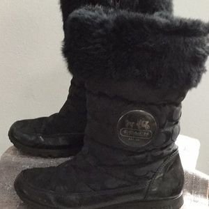 Coach woman's size 9b boot